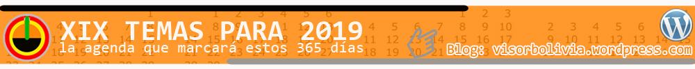 19 temas para 2019