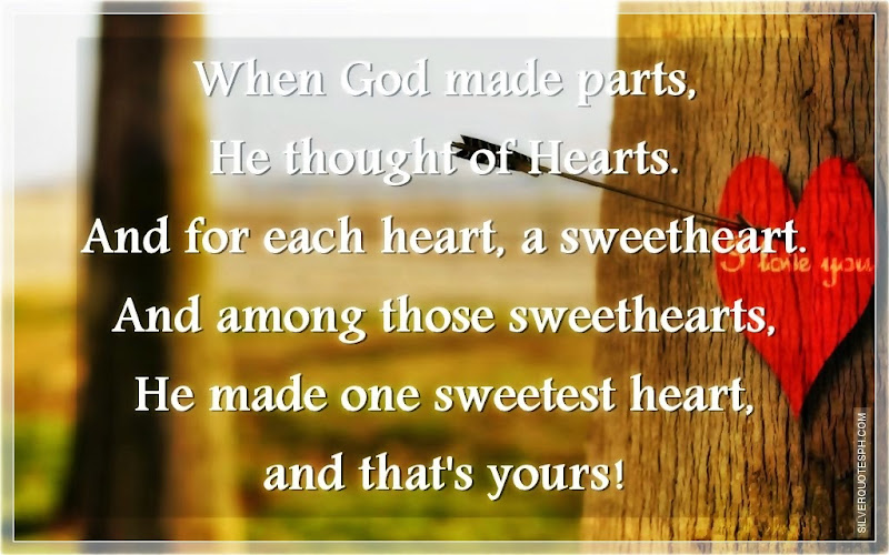When God Made Parts, He Thought Of Hearts, Picture Quotes, Love Quotes, Sad Quotes, Sweet Quotes, Birthday Quotes, Friendship Quotes, Inspirational Quotes, Tagalog Quotes