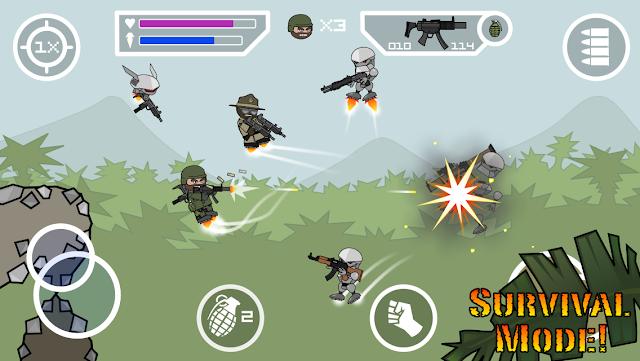 تحميل لعبة ميني ميليشيا Doodle Army 2 Mini Militia v4.0.42