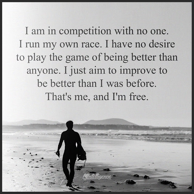 I Am Free To Run Just a thought: Free.....