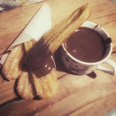 churros, baked churros, how to make churros, simple churros recipe, churros recipe