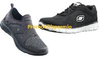 Logo Concorso ''Compra Skechers e vinci la California'' e 100 paia di scarpe Skechers Sport