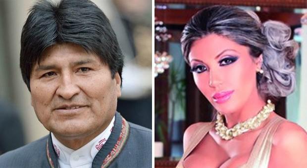 Evo Morales 'duda' de la existencia del hijo con Zapata