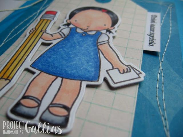Dziewczynka z ołówkiem