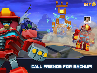 Angry Birds Transformers Apk data full