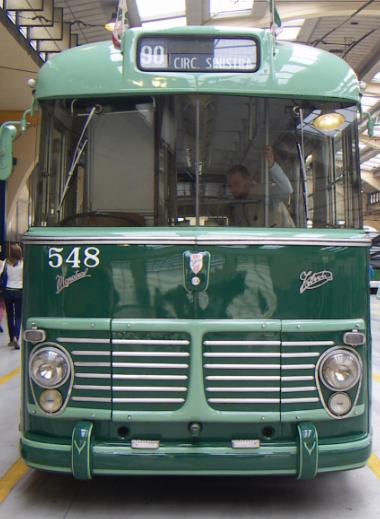 filobus milano viberti CGE ATM