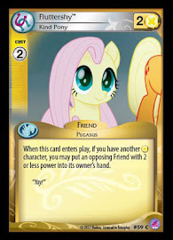 My Little Pony Fluttershy, Kind Pony Seaquestria and Beyond CCG Card