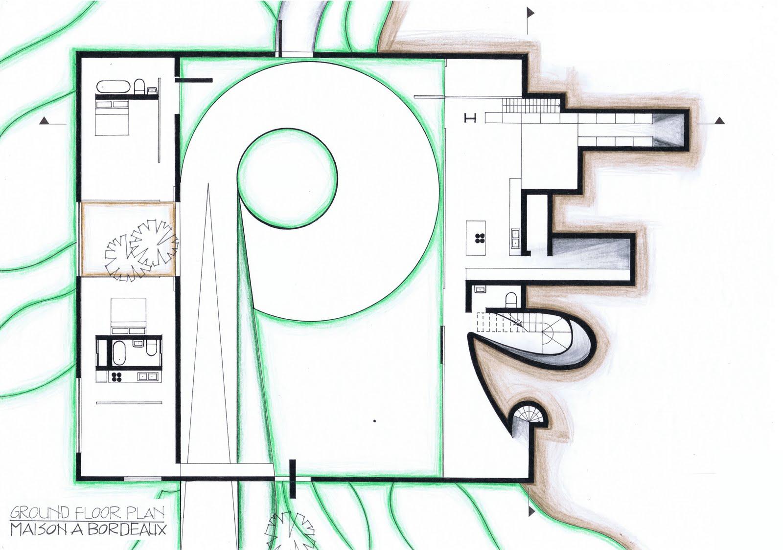 4 Floor House Plans Kristin Harris Arch 1201 Maison A Bordeaux Plans At 1 100