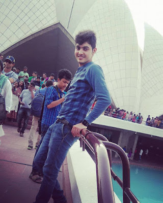 My visit to Lotus Temple