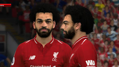 PES 2017 Faces Mo Salah by Ben Hussam FaceMaker