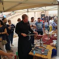 LaMataPORC innodes consultores alcorisa teruel feria cultura porcino demostración corte jamon