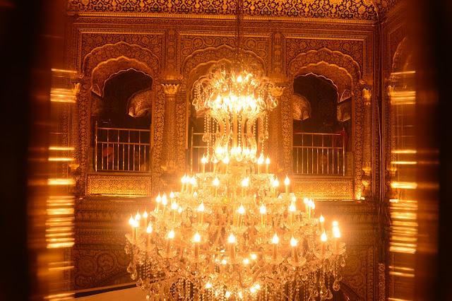 A l'intérieur du Temple d'Or d'Amritsar