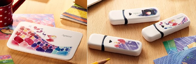 Apacer unveils Flash Drives and External Drives with Fairytale-like illustrations