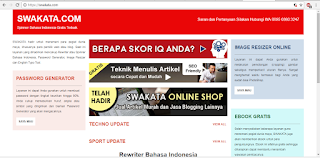 Situs Penyedia Spinner Artikel atau Rewriter