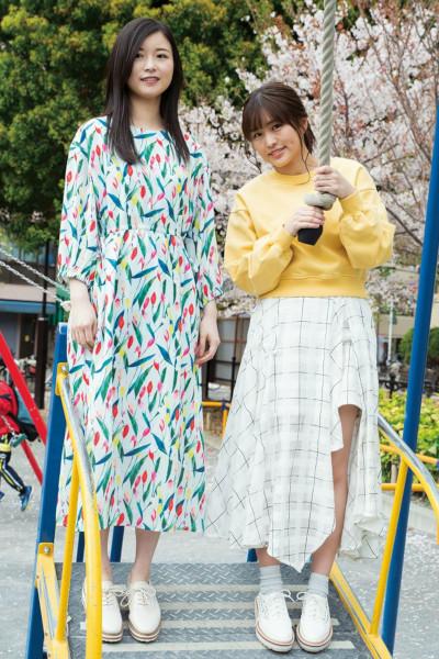 Karin Ito 伊藤かりん, Kotoko Sasaki 佐々木琴子, BRODY 2019 No.06 (ブロディ 2019年6月号)