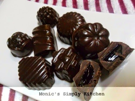 coklat praline blueberry