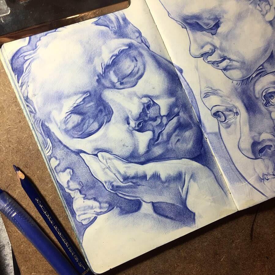 11-Tatiana-Caffeine-Moleskine-Color-Pencil-Drawings-www-designstack-co