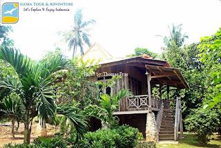 Cottage di Teluk Kiluan