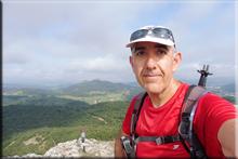 Armikelo mendiaren gailurra 888 m. - 2018ko uztailaren 27an