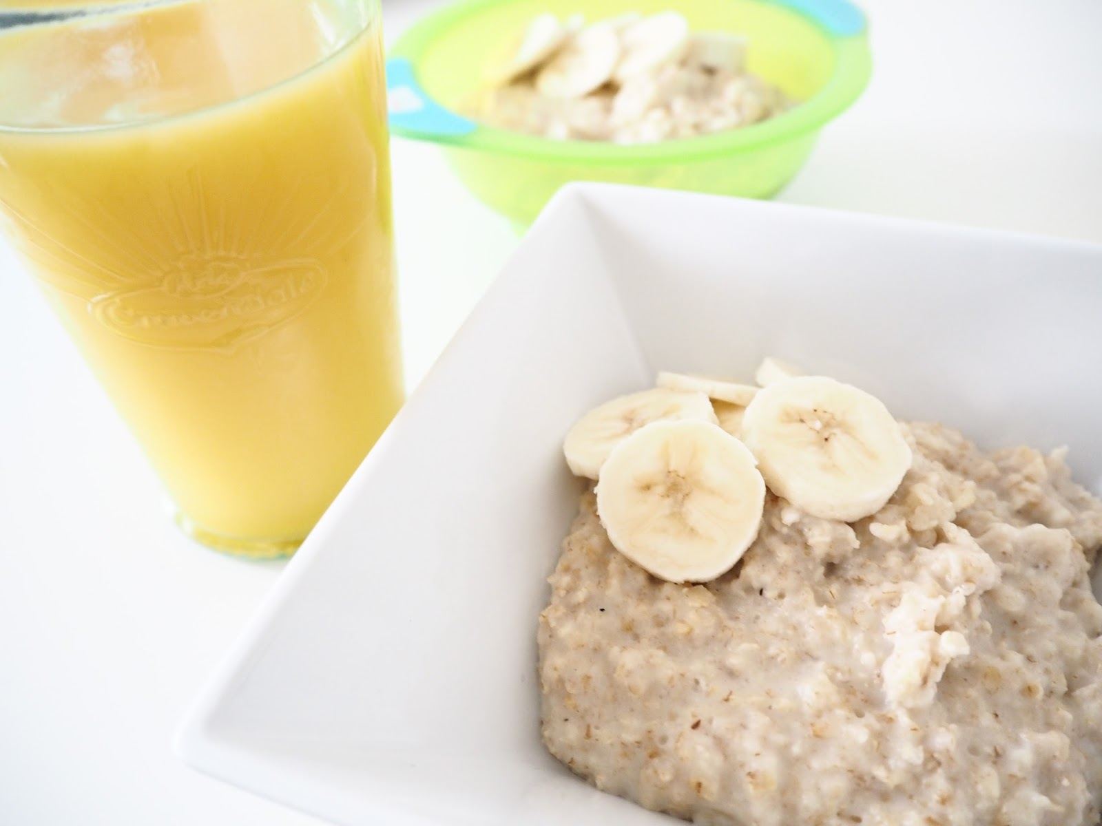 Banana and Porridge Oats