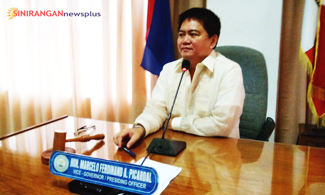Acting Governor Marcelo Dindo Picardal