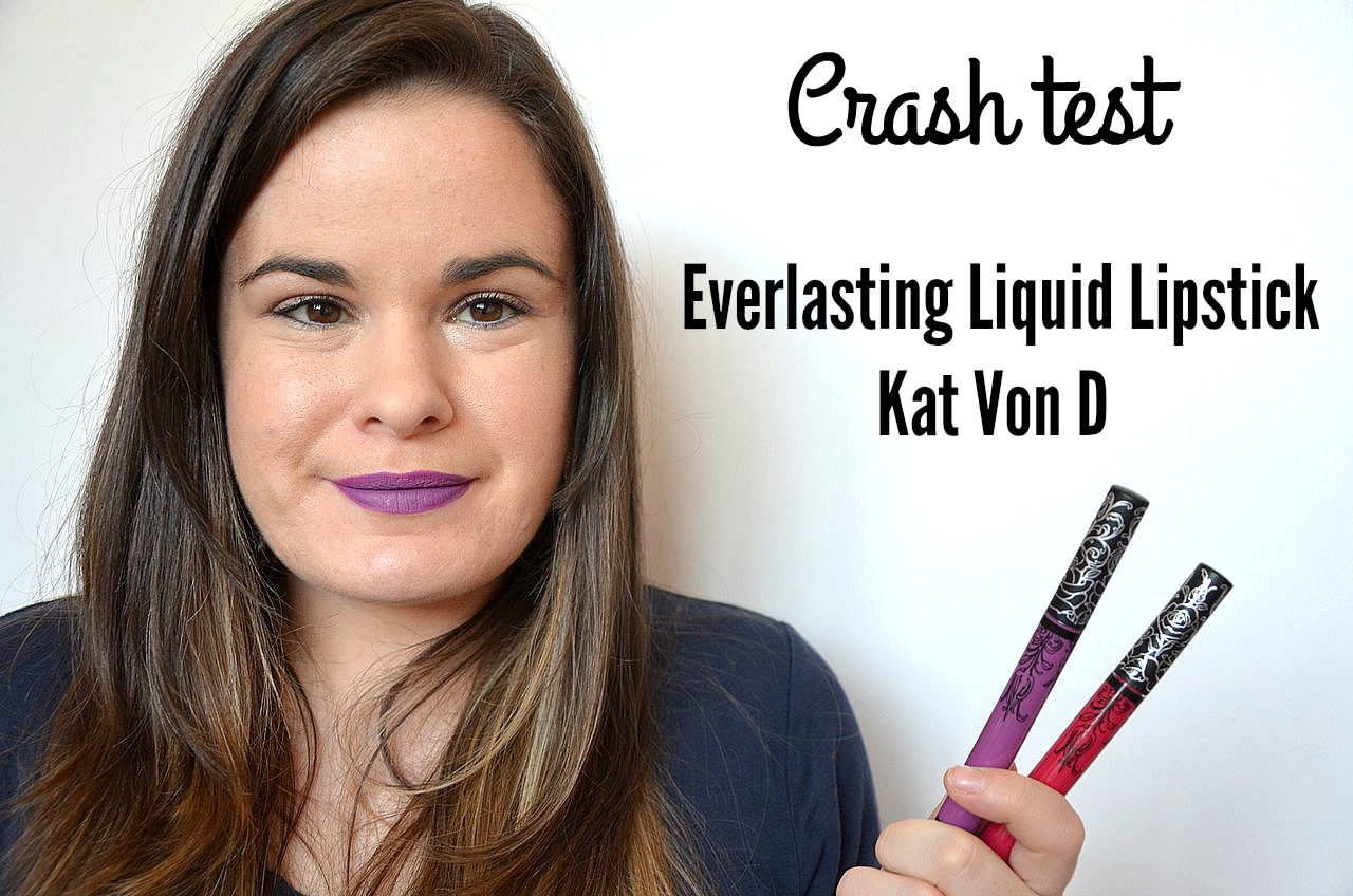 Crash test everlasting liquid lipstick susperia bachelorette Kat Von D