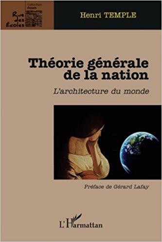 Théorie générale de la nation de Henri Temple (Auteur)