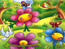 Imagen a la primavera a colores