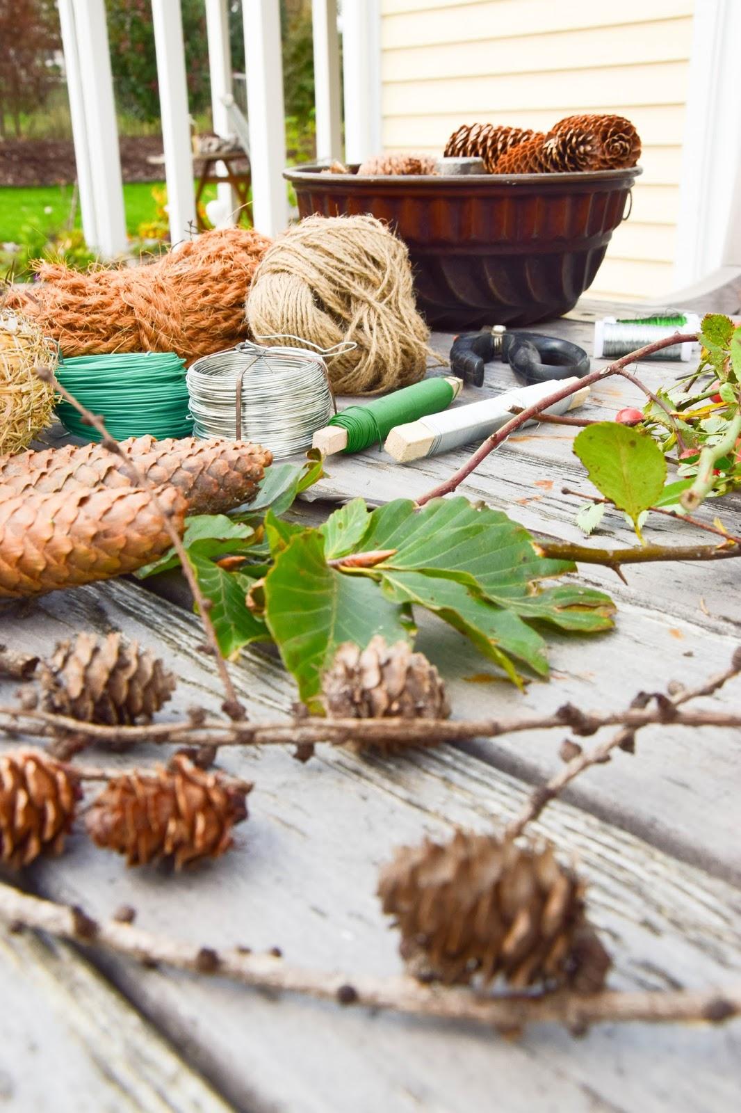 Good Top Kranz Aus Moos Selber Machen Diy Mooskranz Einfach Und Schnell Fr  Herbst Und Winter Die With Tischdeko Selber Machen Winter With Herbst  Tischdeko.