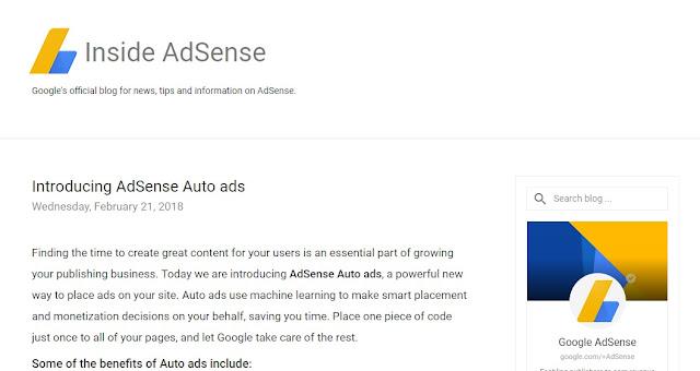 Panduan Adsense Auto Ads