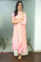 Actress Ritu Varma Pos in Beautiful Pink Anarkali Dress at at Keshava Movie Interview .COM 0078.JPG