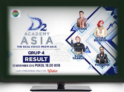 D'Academy Asia 2 ( D'AA 2) Babak 24 Besar Grup 4