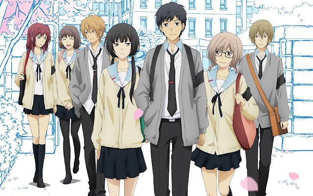 ReLIFE (1-13) + 4 OVA Sub Indo Batch Download