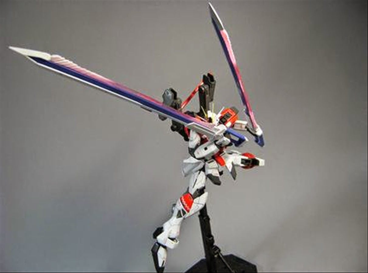 mg 1  100 sword impulse gundam custom build