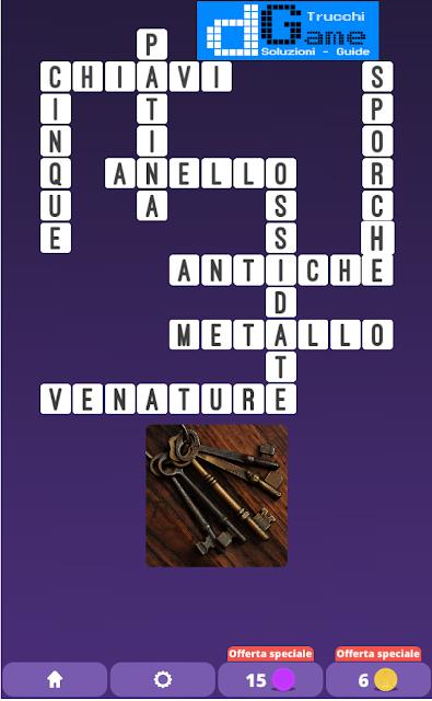 Soluzioni One Clue Crossword livello 19 schemi 11 (Cruciverba illustrato)  | Parole e foto