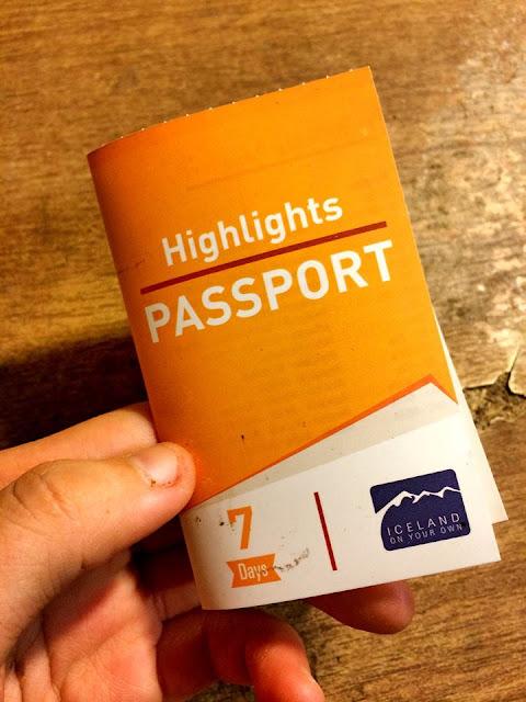 Iceland Bus Passport
