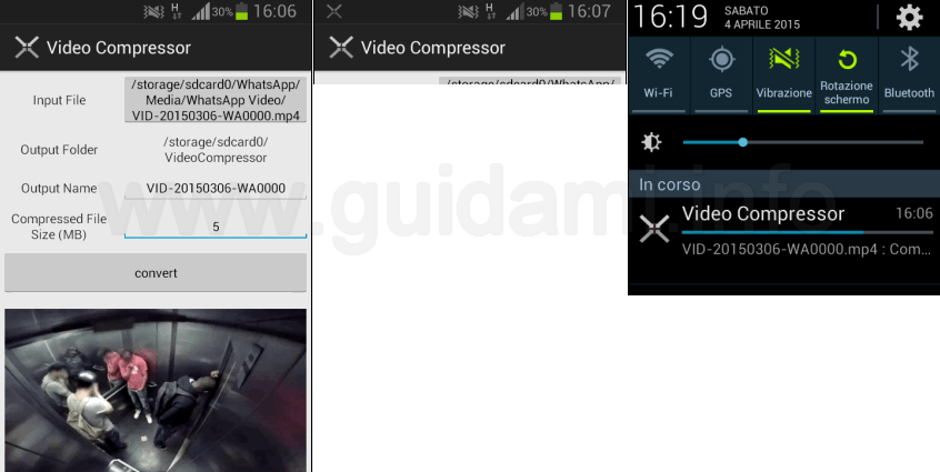 Video Compressor app Android