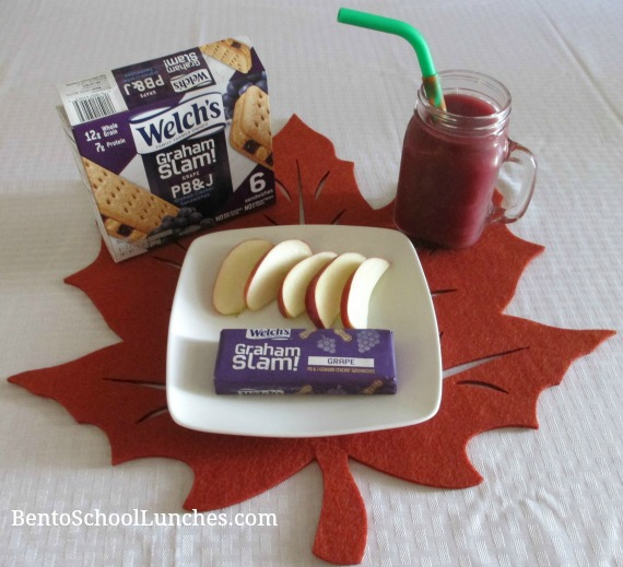 Welch's Graham Slam! Grape PB&J After School Snack