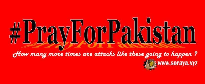 prayforpakista ledakan di lahore pakistan