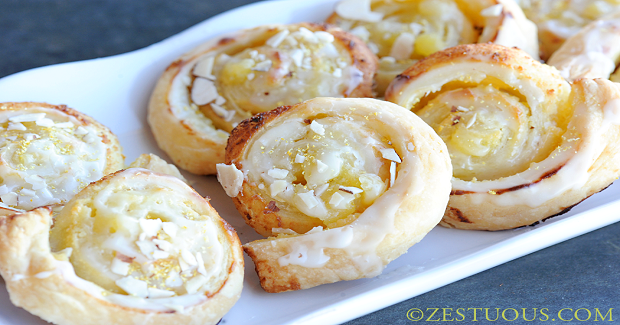 Puff Pastry Lemon Rolls Recipe