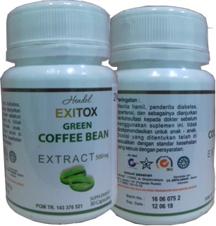 manfaat green coffee,khasiat green coffee,harga green coffee exitox,testimonigreen coffee bean hendel exitox asli,agen jual green coffee exitox,green coffee exitox di apotek,green coffee 1000,