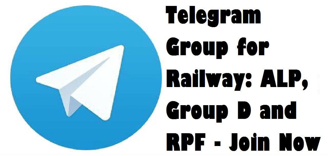 Telegram Group for Railway Exams: ALP, Group D, RRB NTPC and RPF
