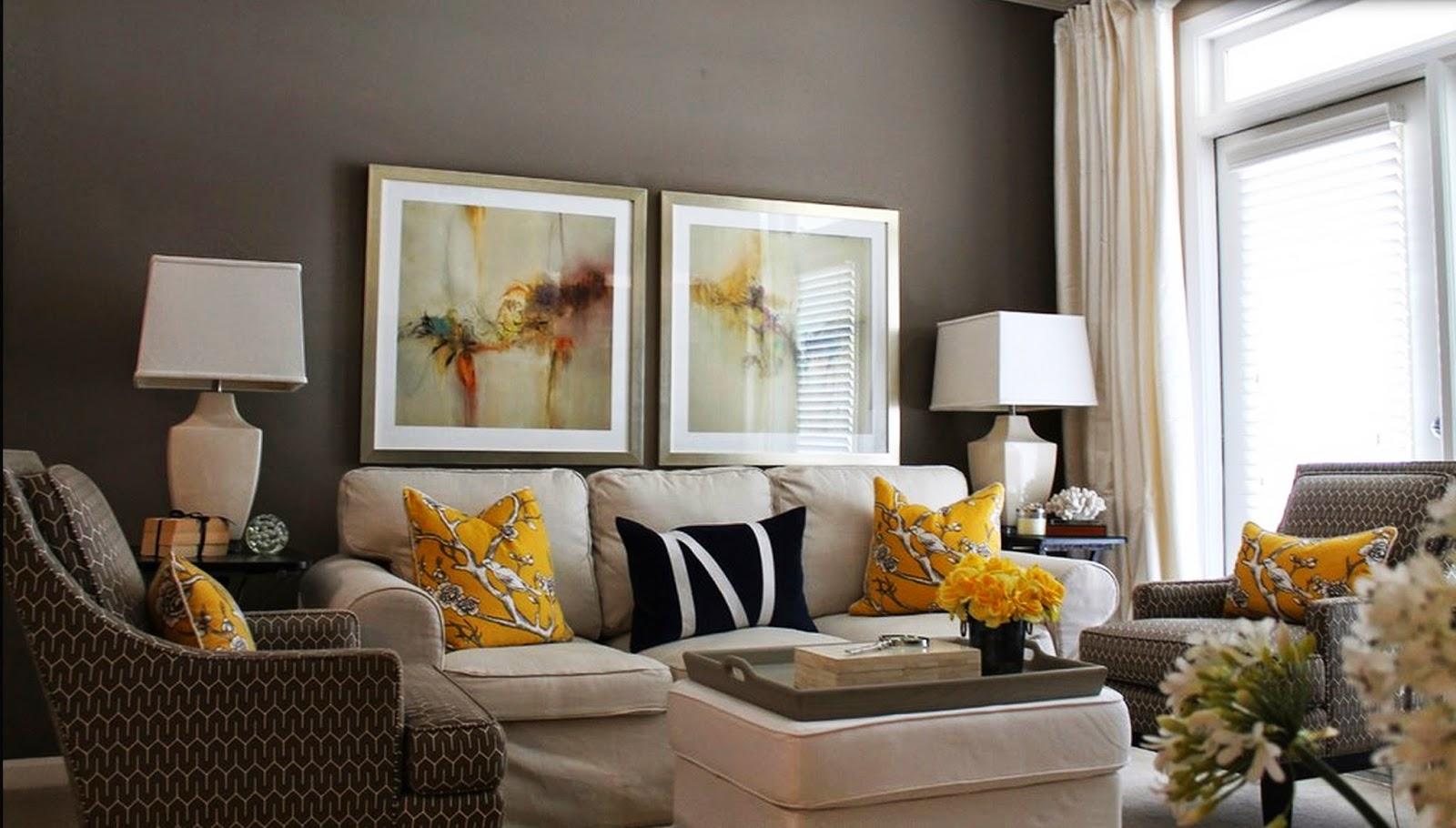 Amarelo na decoração | Decor Alternativa