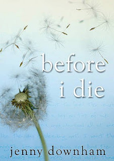 Before I Die by Jenny Downham book review on Blogger's Bookshelf