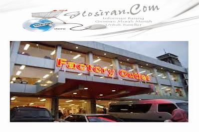 Info Factory Outlet Harga Miring di Bandung