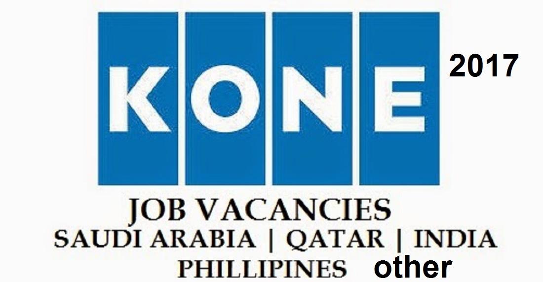 Exciting Careers in #KONE #jobs KSA,UAE,Qatar,Oman,US,UK