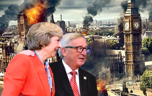 BRITAIN TO PAY BREXIT BLACKMAIL BILLIONS TO SAVE UK FINANCIAL CENTRE