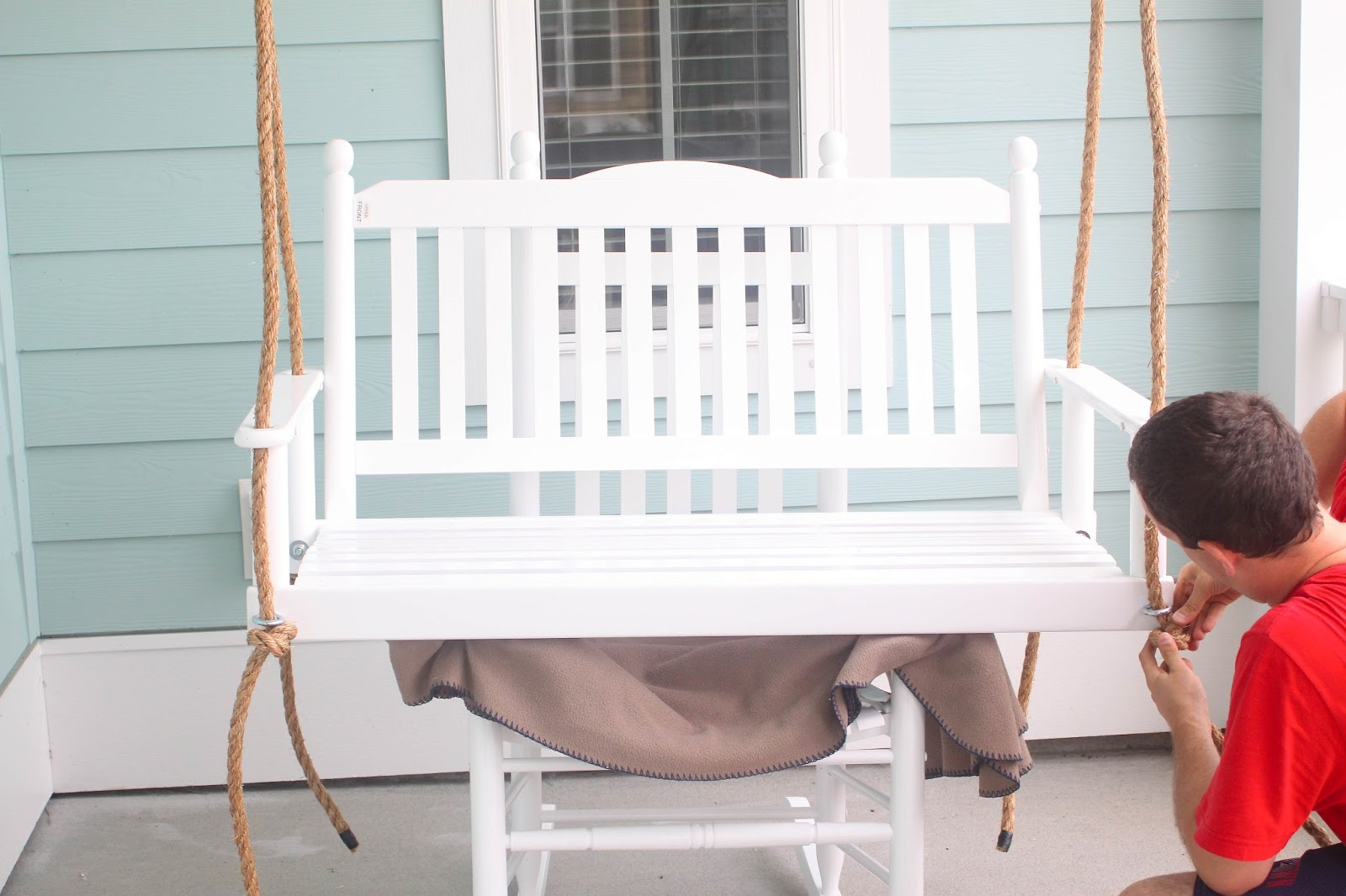 hang a round chair