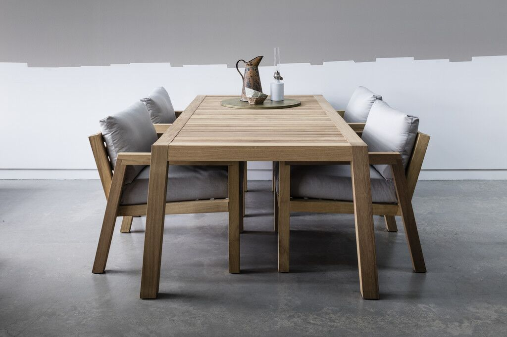 Piet Boon Studio wood dining table and chairs bespoke design