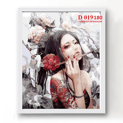 Tranh son dau so hoa tai Ha Dinh